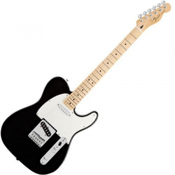 Fender Standard Telecaster®, Maple Fingerboard, Black, No Bag