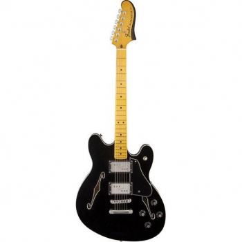 Fender Starcaster®, Maple Fingerboard, Black