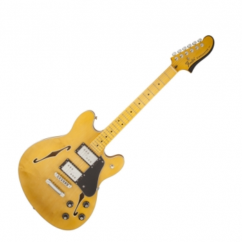 Fender Starcaster®, Maple Fingerboard, Natural