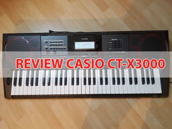 Review Casio CT-X3000